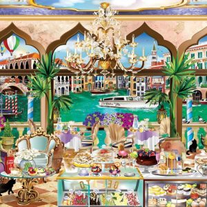 Windows to the World - Venice la Dolce Vita 1000 Piece Jigsaw Puzzle - Holdson