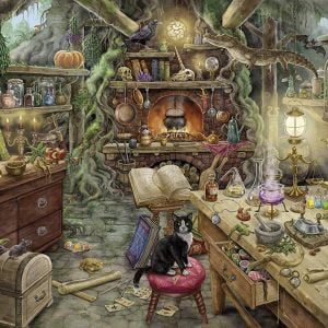 Escape 3 - The Witches Kitchen 759 Piece Jigsaw Puzzle - Ravensburger