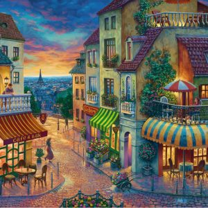 An Evening in Paris 1000 Piece Jigsaw Puzzle - Ravensburger