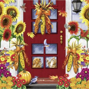 Autumn Birds 500 Large Piece Format Jigsaw Puzzle - Ravensburger