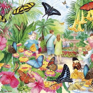Butterfly House 1000 Piece Jigsaw Puzzle - Gibsons