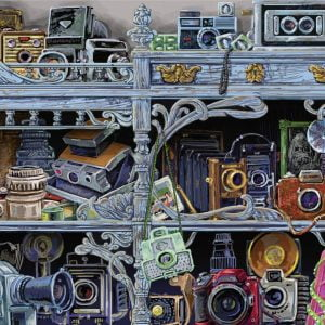 Camera Evolution 300 Lare Piece Format Jigsaw Puzzle - Raveensburger