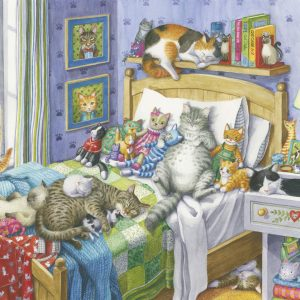 Cat Nap 500 Large Piece Format Jigsaw Puzzle - Ravensburger