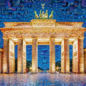 Charis Tsevis Berlin Photomosaic 1000 Piece Jigsaw Puzzle - Schmidt
