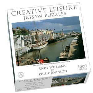 Charlestown Harbour Cornwell UK 1000 Piece Jigsaw Puzzle - Creative Leisure