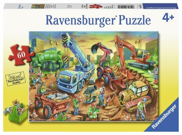 Construction Crew 60 Piece Jigsaw Puzzle - Ravensburger