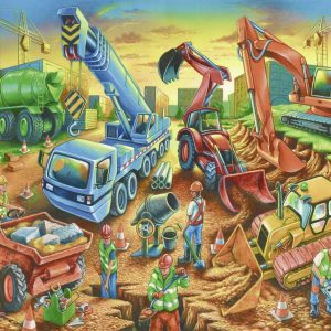 Construction Crew 60 Piece Jigsaw Puzzle - Ravensburger