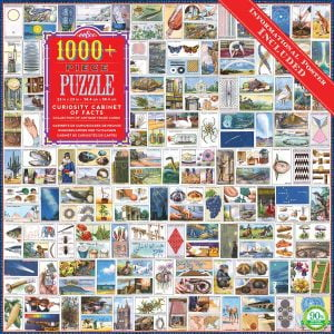 Curiosity Cabinet of Facts 1000+ Piece Jigsaw Puzzle - eeBoo
