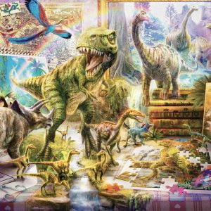 Dino Toys come Alive 1000 Piece Jigsaw Puzzle - Anatolian