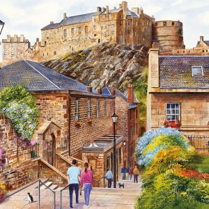Edinburgh - the Vennel 1000 Piece Jigsaw Puzzle - Gibsons