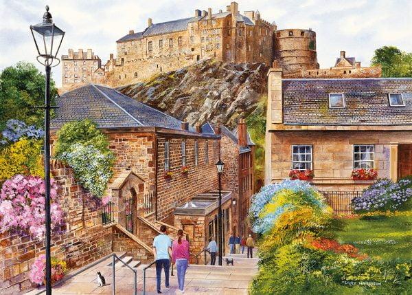 Edinburgh - the Vennel 1000 Piece Jigsaw Puzzle - Gibsons