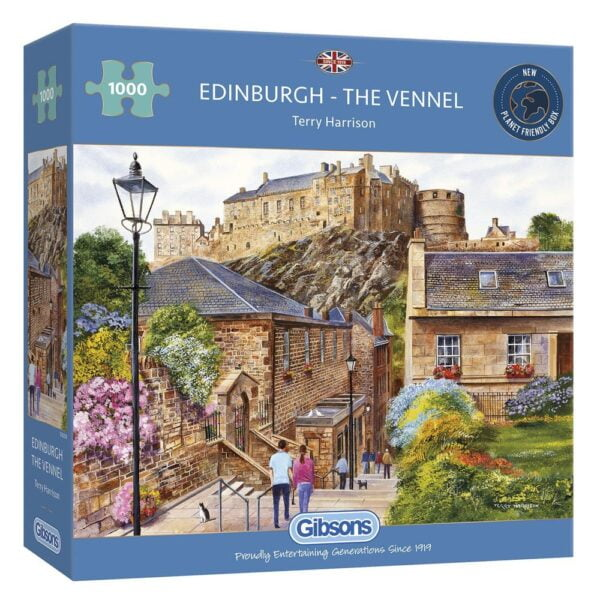 Edinburgh - The Vennell 1000 Piece Puzzle - Gibsons