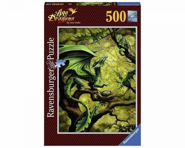 Forest Dragon 500 Piece Jigsaw Puzzle - Ravensburger