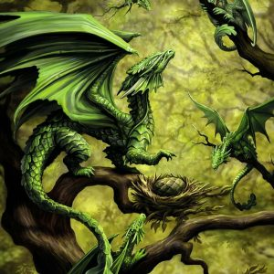 Forest Dragon 500 Piece Jigsaw Puzzle - Ravensburger
