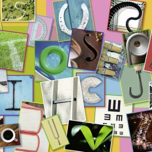 Funny Alphabet 100 XXL Piece Jigsaw Puzzle - Ravensburger