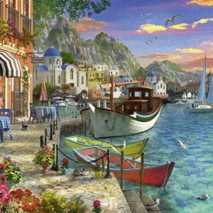 Grandiose Greece 1000 Piece Jigsaw Puzzle - Ravensburger