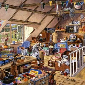 Grandmas Attic 500 Larger Piece Jigsaw Puzzle - Ravensburger