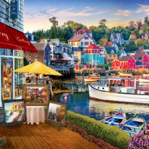 Harbour Gallery 1000 Piece Jigsaw Puzzle - Anatolian