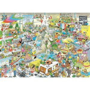 JVH Funny World - the Holiday Fair 1000 Piece Jigsaw Puzzle - Holdson