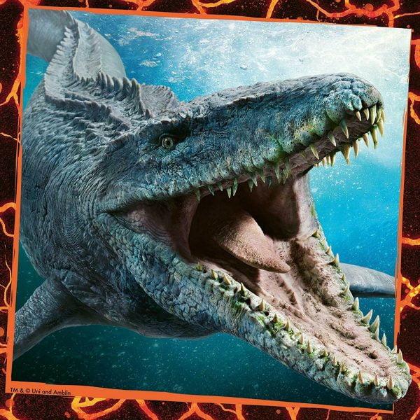 Jurassic World - Instinct to Hunt 3 x 49 Piece Jigsaw Puzzles - Ravensburger