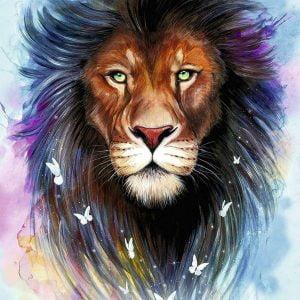 Majestic Lion 1000 Piece Jigsaw Puzzle - Ravensburger