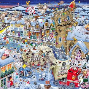 Mike Jupp - I Love Christmas 1000 Piece Jigsaw Puzzle - Gibsons