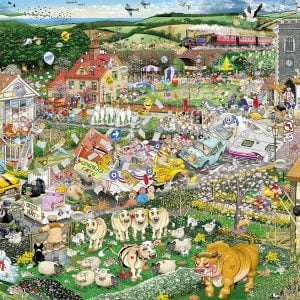 Mike Jupp - I Love Spring 1000 Piece Jigsaw Puzzle - Gibsons