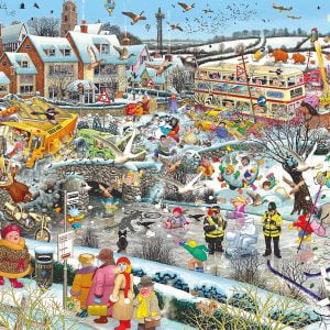 Mike Jupp - I Love Winter 1000 Piece Jigsaw Puzzle - Gibsons