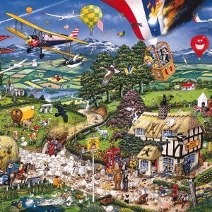 Mike Jupp - I Love the Country 1000 Piece Jigsaw Puzzle - Gibsons