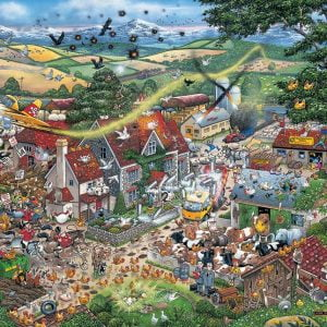 Mike Jupp - I Love the Farmyard 1000 Piece Jigsaw Puzzle - Gibsons