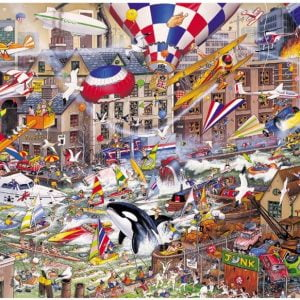 Mike Jupp - I Love the Weekend 1000 Piece Jigsaw Puzzle - Gibsons