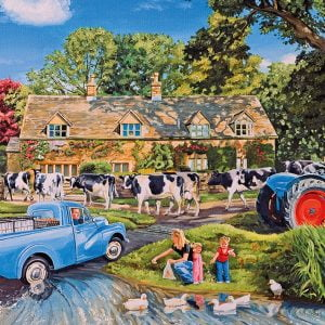 Milk on the Move 250 XL Piece Jigsaw Puzzle - Gibsons