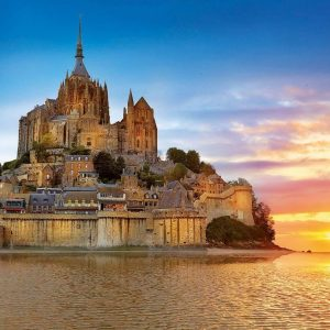 Mont Saint Michel France 1000 Piece Jigsaw Puzzle - Educa