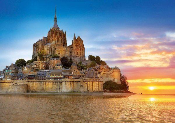 Mont Saint Michel France 1000 Piece Jigsaw Puzzle - Educa