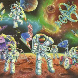 Moon Landing 35 Piece Jigsaw Puzzle - Ravensburger