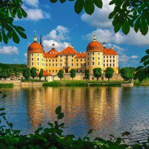 Moritzburg Castle 500 Large Piece Jigsaw Puzzle - Ravensburger