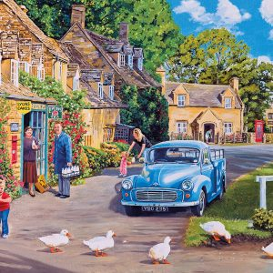 Morning Delivery 500 XL Piece Jigsaw Puzzle - Gibsons