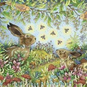 Nocturnal Forest Magic 1000 Piece Jigsaw Puzzle - Ravensburger