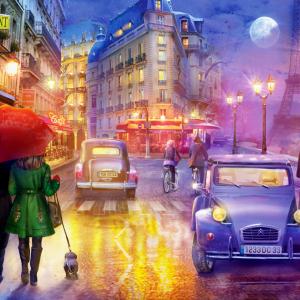 Paris at Night 1000 Piece Jigsaw Puzzle - Anatolian
