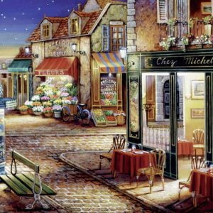 Paris's Secret Corner 1500 Piece Jigsaw Puzzle - Ravensburger