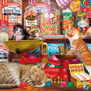 Paw Drops & Sugar Mice 500 XL Piece Jigsaw Puzzle - Gibsons