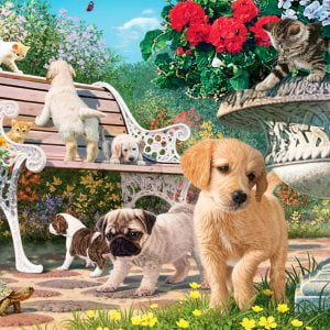 Pets Hide and Seek 260 Piece Jigsaw Puzzle - Anatolian