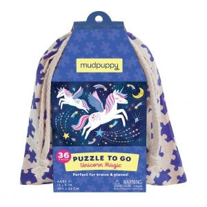 Puzzle to Go - Unicorn Magic 36 Piece - Mudpuppy