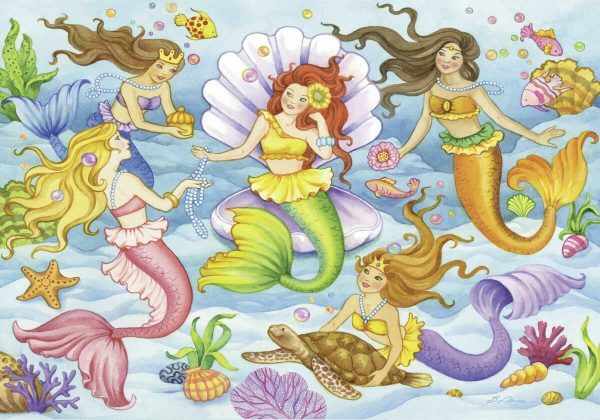 Queens of the Ocean 2 x 12 Piece Jigsaw Puzzle - Ravensburger
