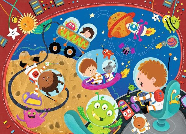 Recess in Space 60 Piece Jigsaw Puzzle - Ravensburger