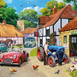 Running Repairs 1000 Piece Jigsaw Puzzle - Gibsons