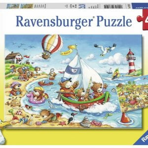 Seaside Holiday 2 x 24 Piece Jigsaw Puzzle - Ravensburger