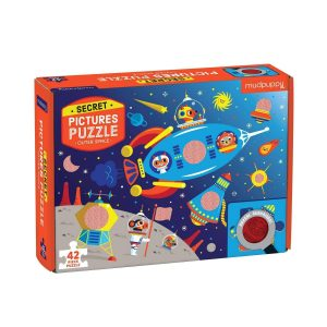 Secret Pictures Puzzle - Outer Space - Mudpuppy