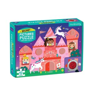 Secret Pictures Puzzle - Unicorn Castle - Mudpuppy