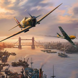 Spitfire Skirmish 500 Piece Jigsaw Puzzle - Gibsons